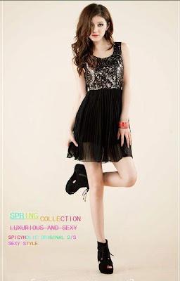Dress Cantik Hitam