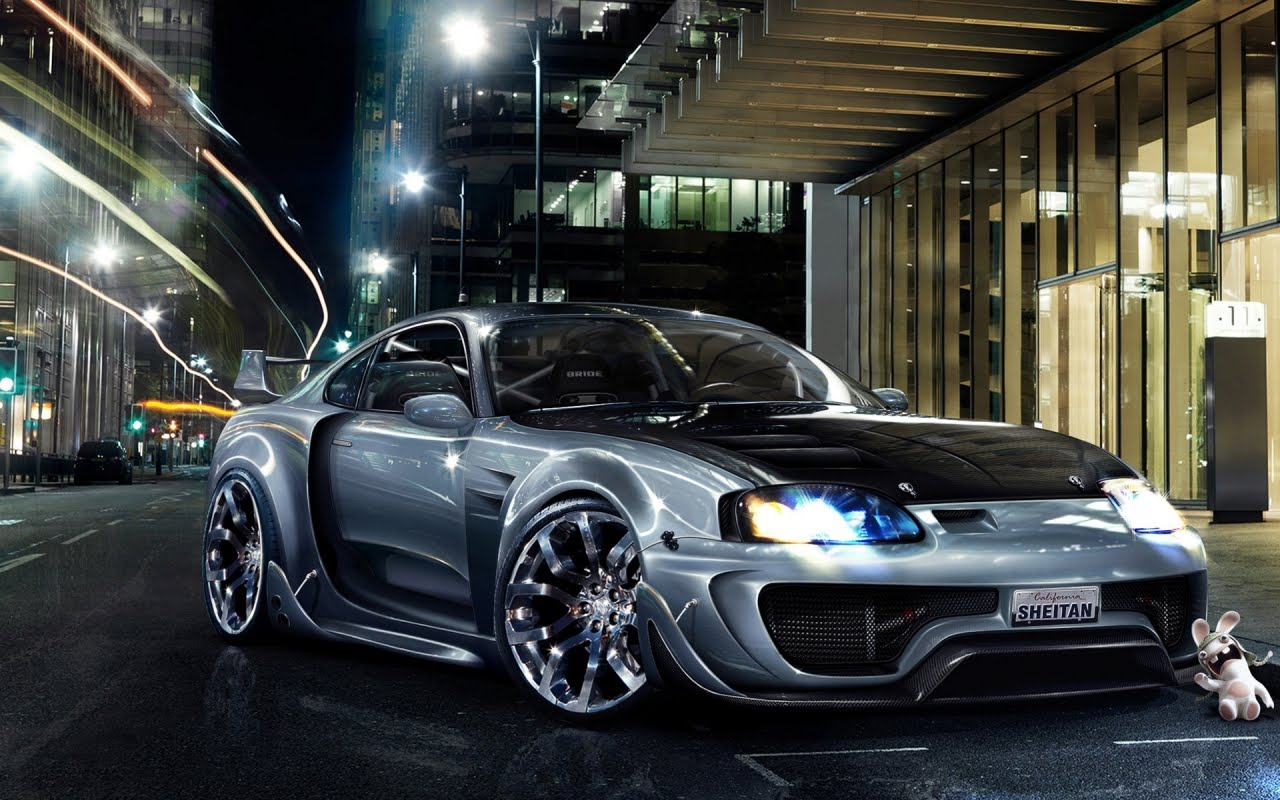 Toyota Supra Tuning, HD Wallpaper