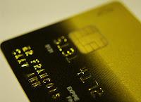 et gullfarget kredittkort