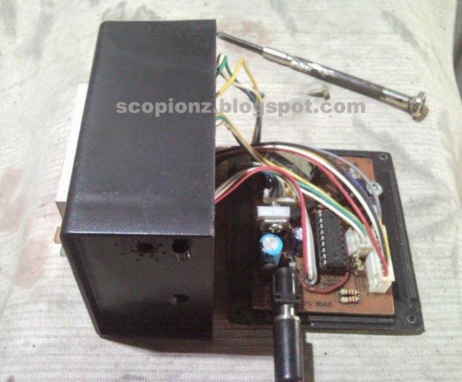 DS1307 Alarm Clock circuit