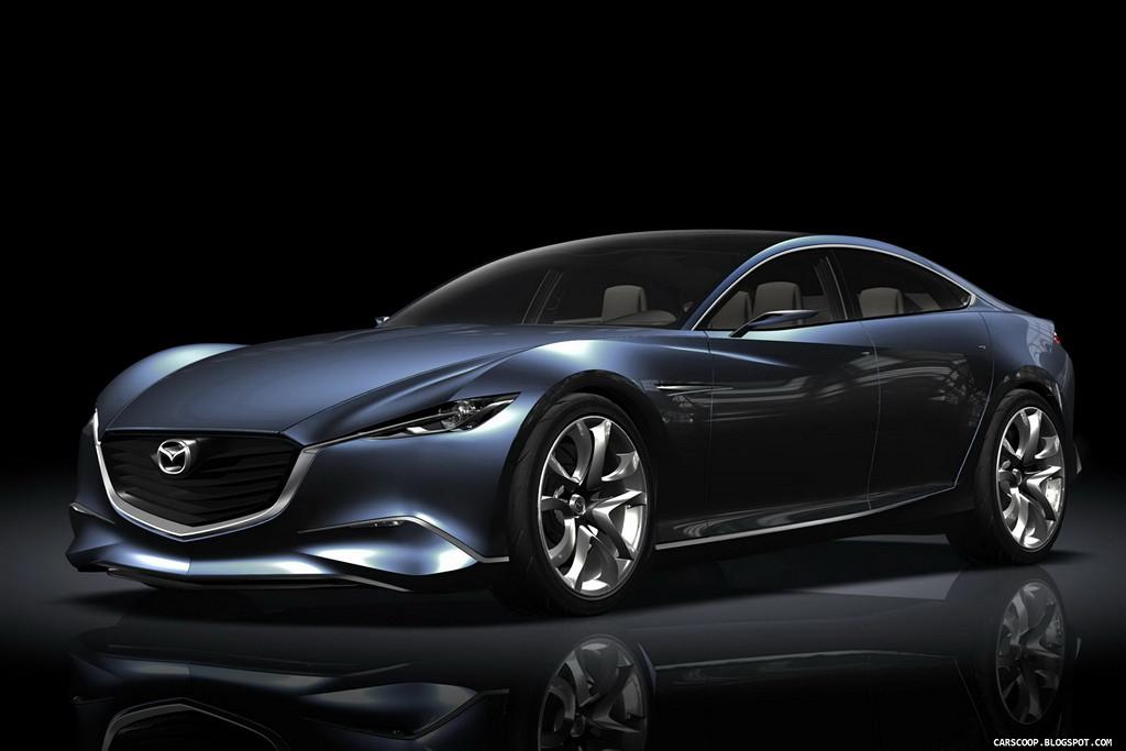 Mazda Shinari, Kodo, koncept, japoński samochód, sedan, piękny design, prototyp, dusza ruchu