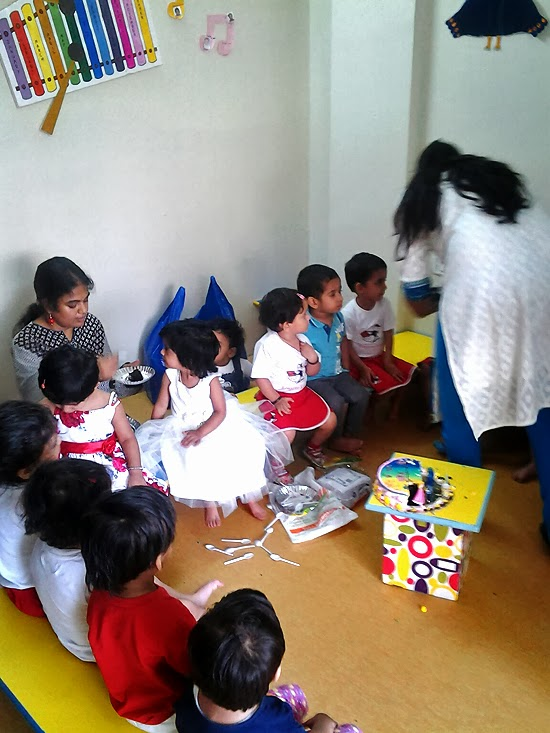 Anisha's Bday Party at play school