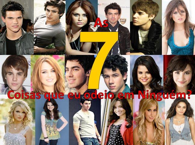 As 7 coisas que eu odeio em Ninguém