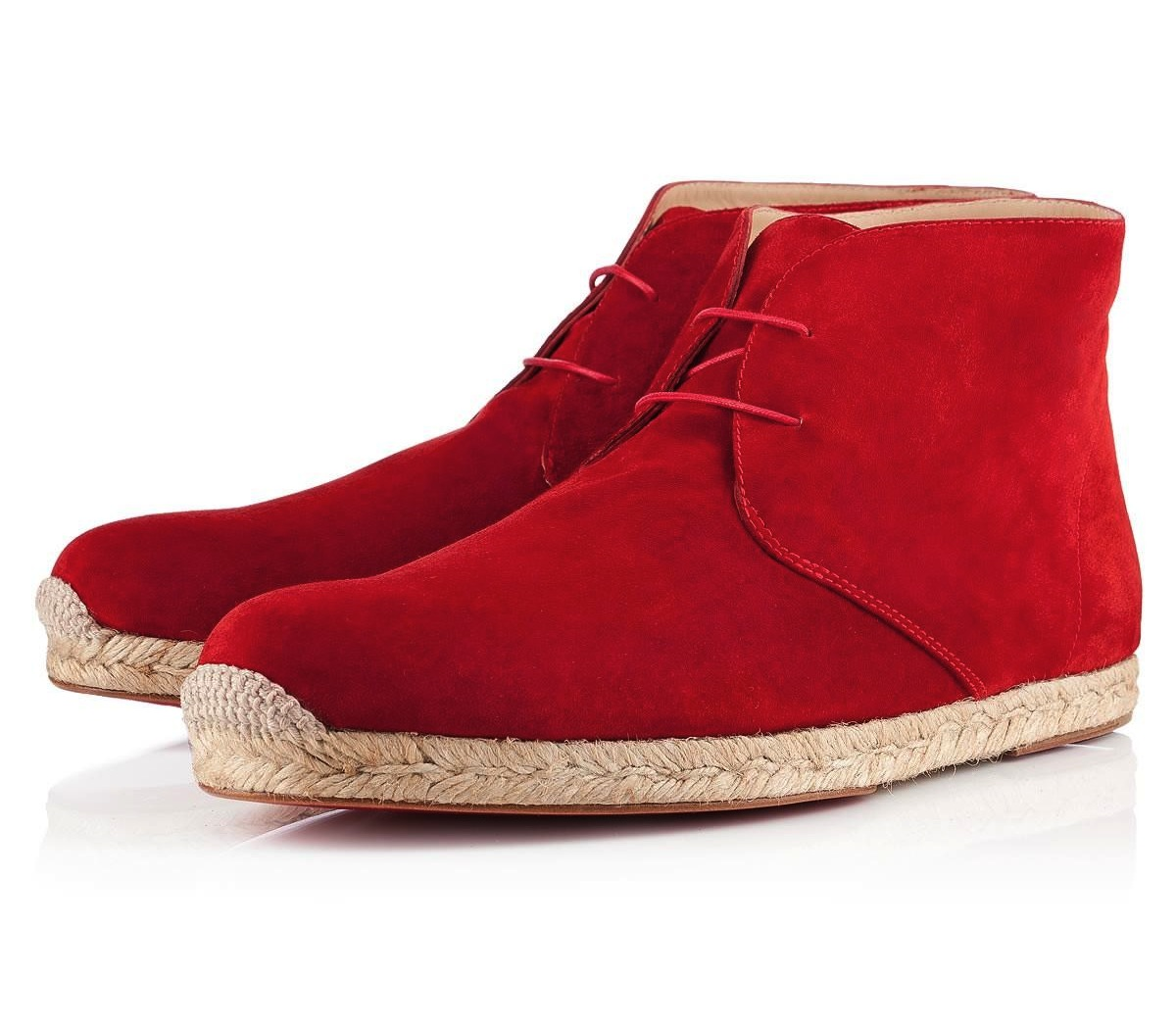 00O00 London Menswear Blog Christian Louboutin New Yorker Festival 2012 Cadaques Espadrilles suede boots