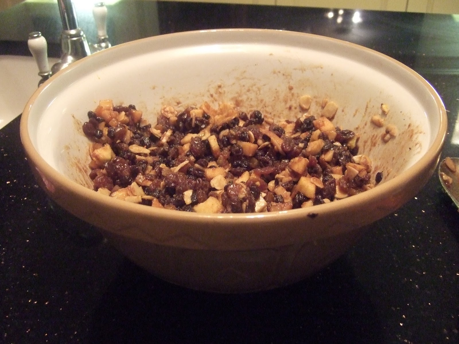 The Kitsch Cook: Vegetarian Christmas Mincemeat