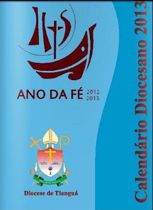 CALENDÁRIO DIOCESANO 2013