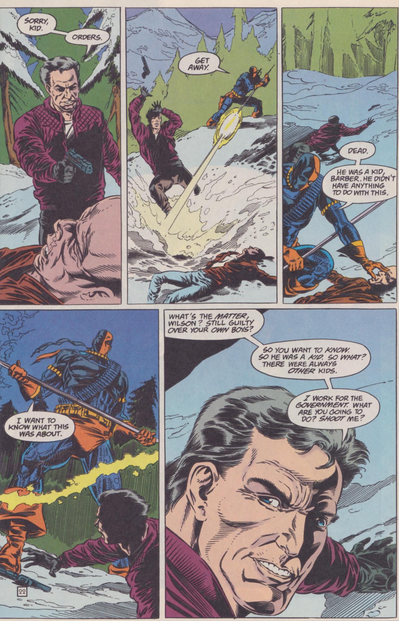 Deathstroke (1991) Issue #22 #27 - English 23