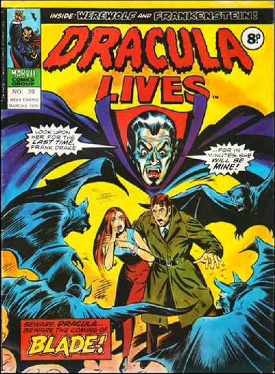 Marvel UK, Dracula Lives #20
