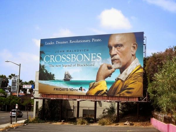 Crossbones series premiere billboard
