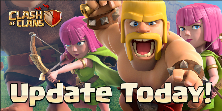 Update Terbaru Clash of Clans April 2015
