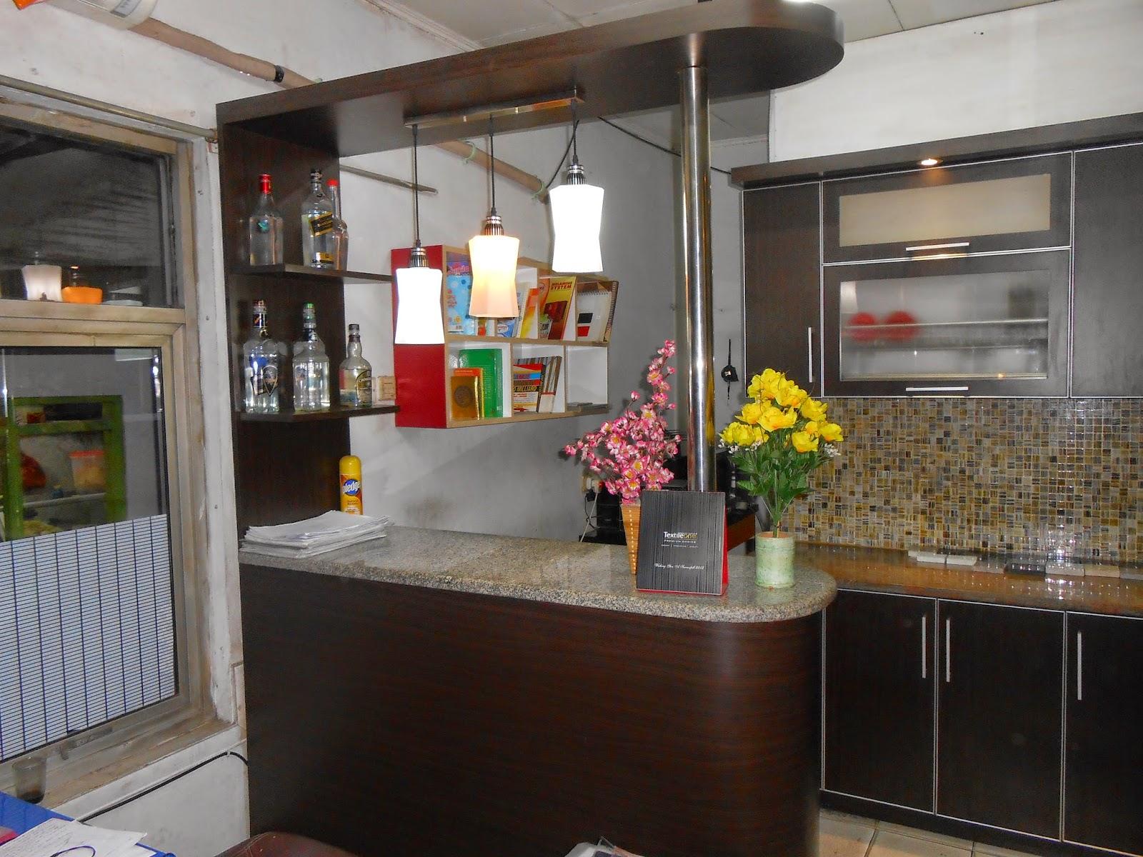 Desain Meja Mini Bar Dapur Leter L Gambar Desain Rumah