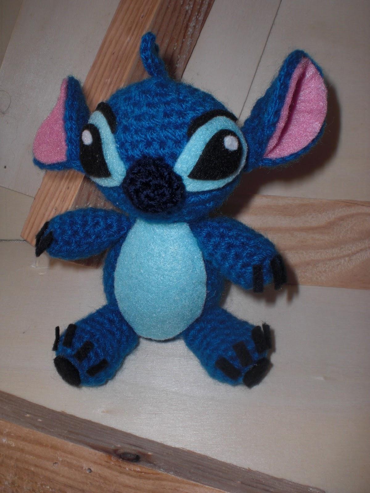 El b?ho costurero: Un nuevo encargo: amigurumi Stitch.