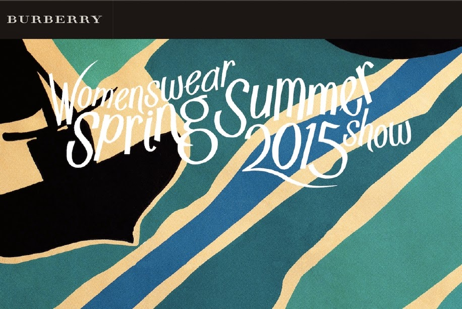 Watch Burberry's Spring/Summer 2015 Show LIVE HERE TODAY!