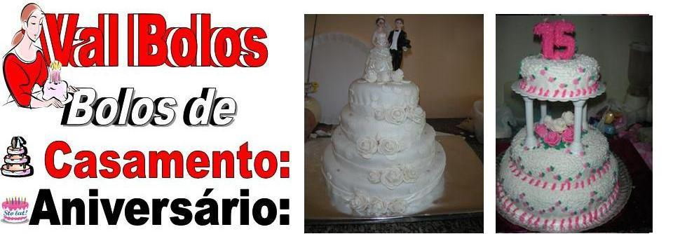 vall bolos decoração