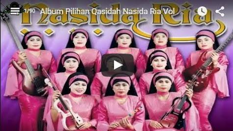 Qasidah Nasida Ria Vol 01 Full Album (Qasidah Nonstop )