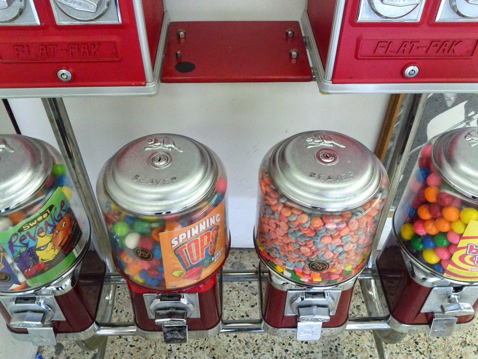 Stock photo: Gumball machines