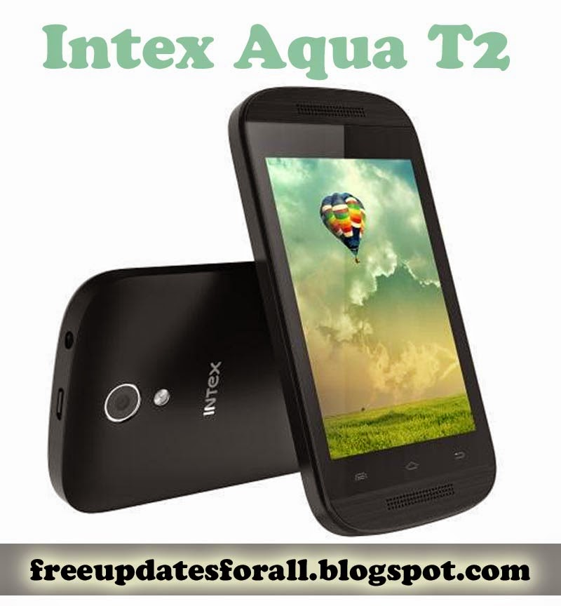 Low Price Intex Aque T2 Android 4.4 Mobile at Rs. 2690