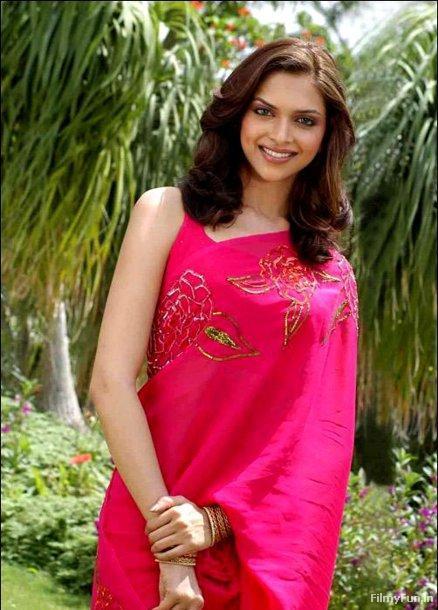 Deepika Padukone in red