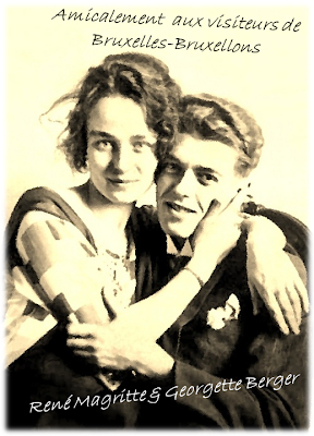 René Magritte et Georgette Berger (Olympia)