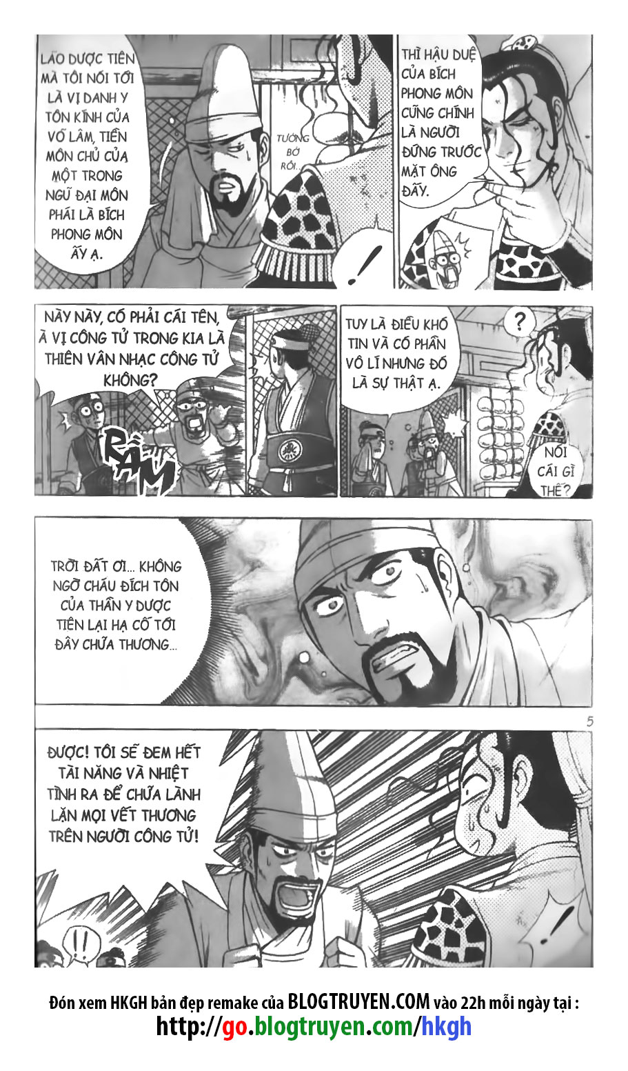 Hiệp Khách Giang Hồ chap 264 Trang 6 - Mangak.info