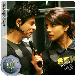 Don 2: A film by Farhan Akhtar starring Shahrukh Khan, Priyanka Chopra, Boman Irani etc. Film Review by Haree for Chithravishesham.
