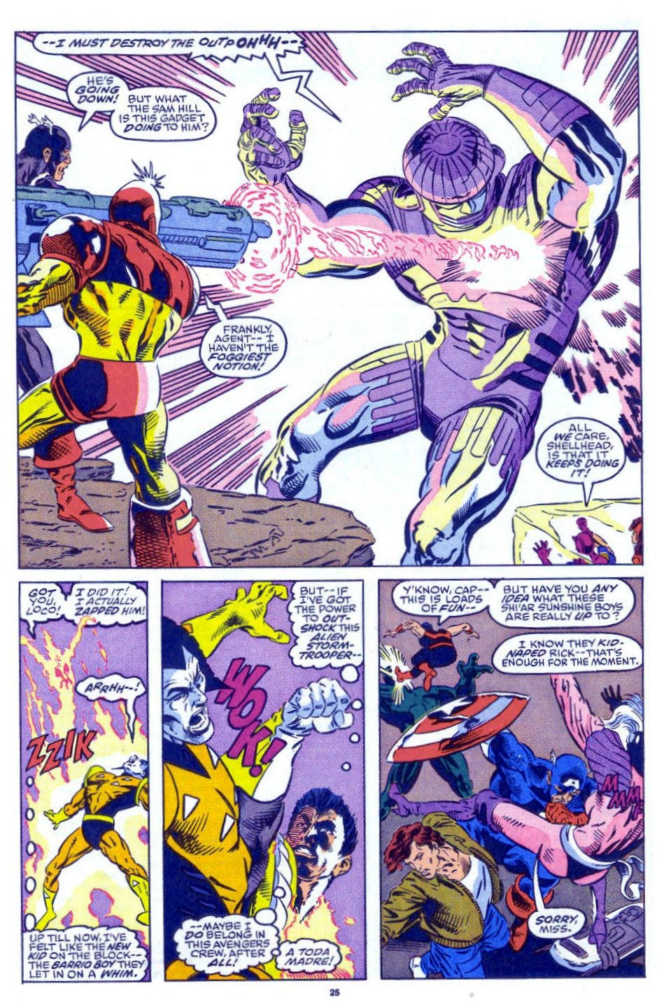 Captain America (1968) Issue #398b #332 - English 20