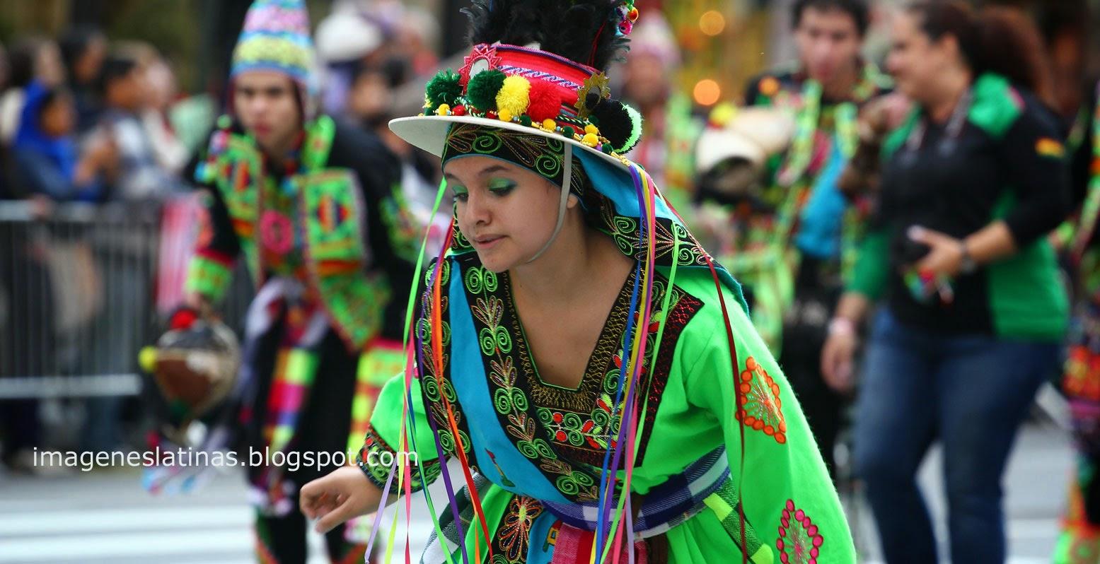 Desfile boliviana de Nueva York USA