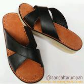 Sandal tarumpah asli