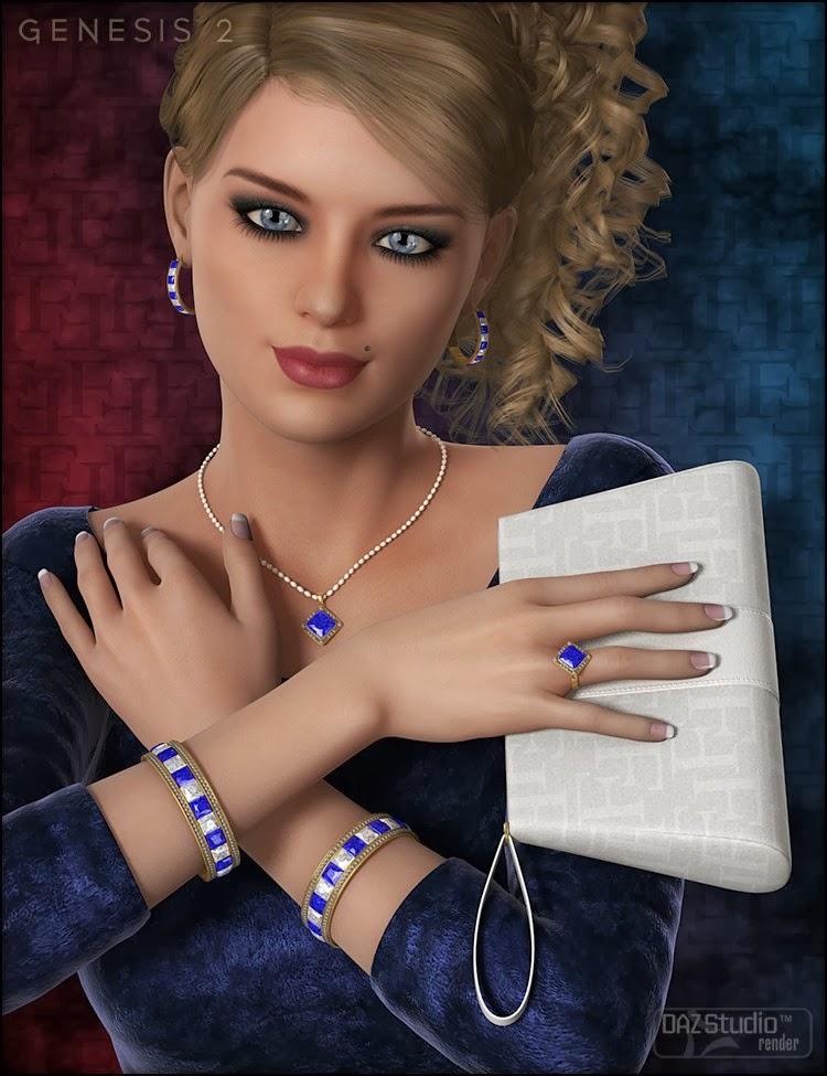 Glamorous Accessoires Riva