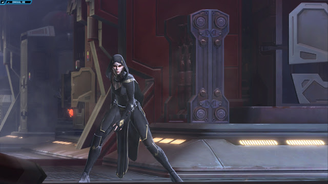 star wars the old republic, Knights of the Fallen Empire, Chapter III Outlander vaylin forces open door