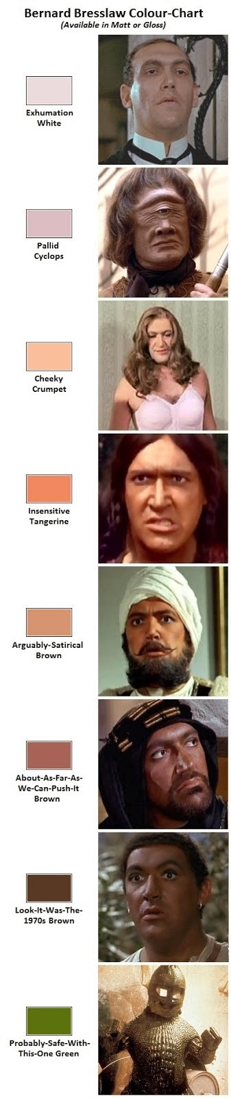 The United Colours of Bernard Bresslaw.
