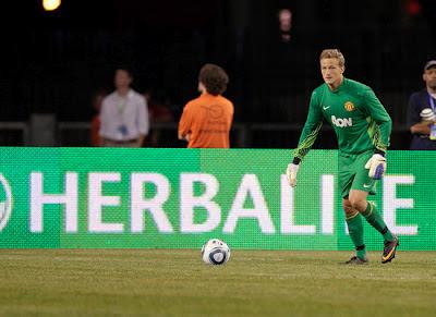 Lindegaard Man Utd Tour 2012 Herbalife