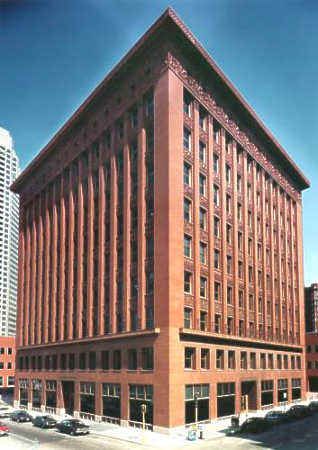 Guaranty Building Buffalo. Wainwright Building (1891)
