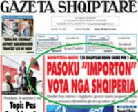 Αλβανικό δημοσίευμα: Το ΠΑΣΟΚ εισάγει ψήφους από την Αλβανία