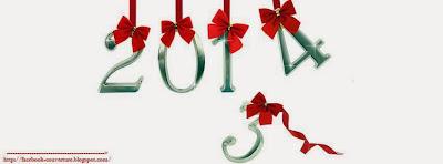 Belle couverture facebook personnalisée bonne année 2014