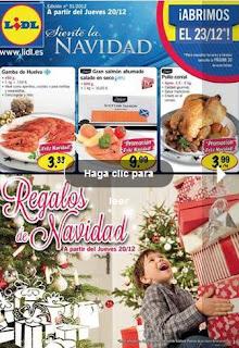 catalogo lidl regalos de navidad 2012