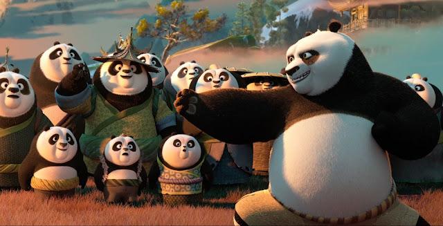 Confira o segundo trailer completo da sequência Kung Fu Panda 3, da DreamWorks