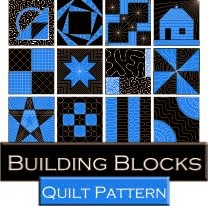 The Free Motion Quilting Project: Building Blocks Quilt Along