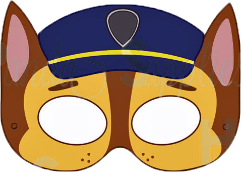 Gorgeous image within paw patrol printable masks