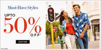 Buy Up to 50% Off on Your Favorite Brands for Men's and Women's at Rs.359  : buyToEarn