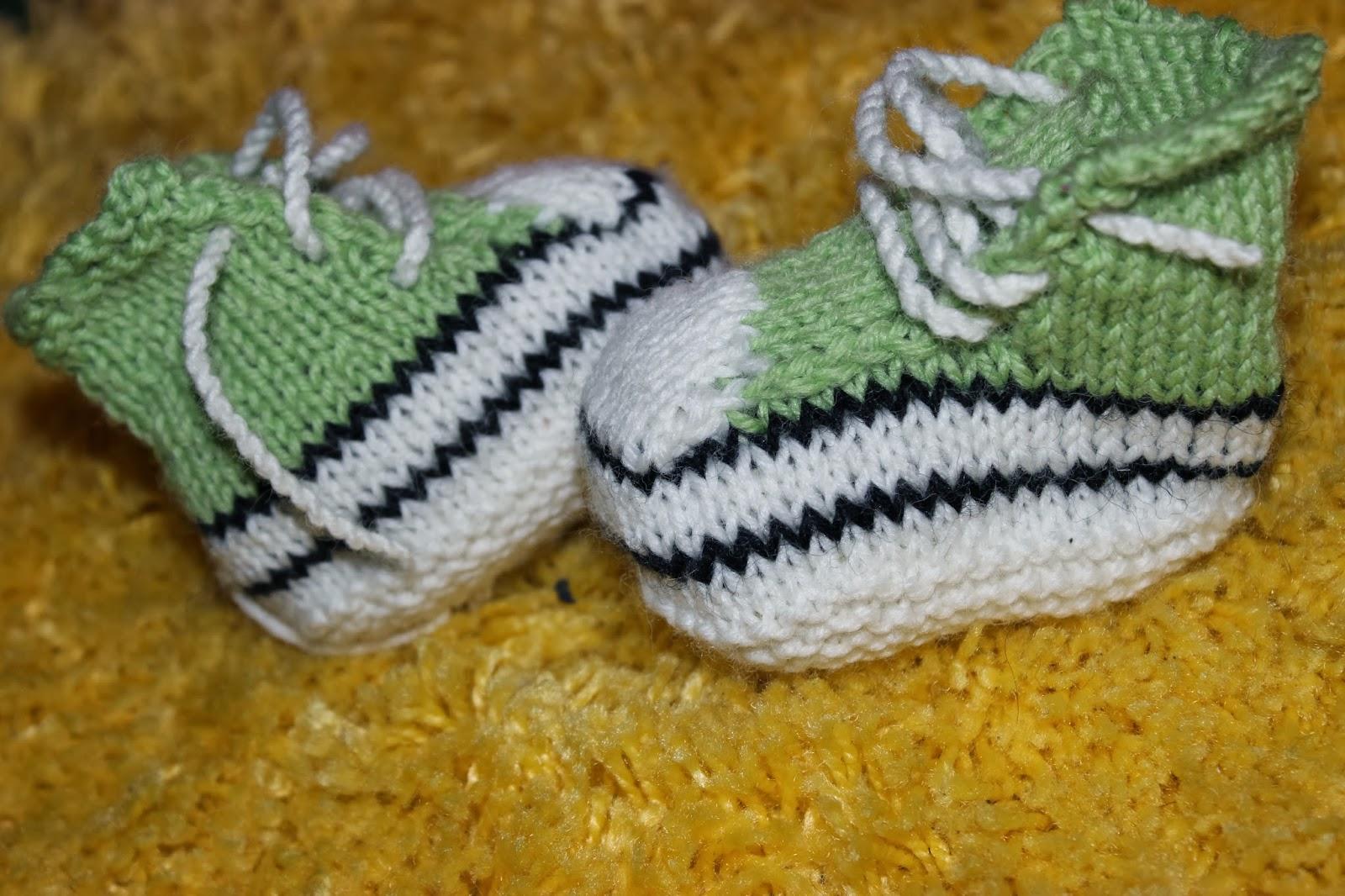 tennarit vauvalle neulomalla