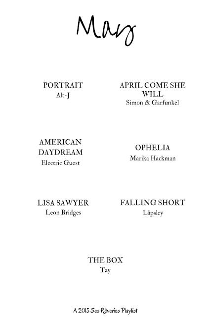 Playlist / May 2015 | Ses Rêveries
