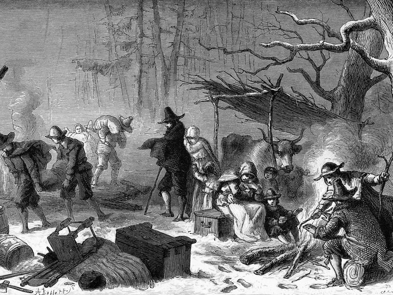 an assessment of the food of the settlers in colonial america