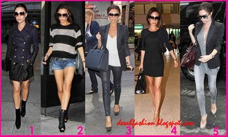 5 Cara Terlihat Tinggi ala Victoria Beckham
