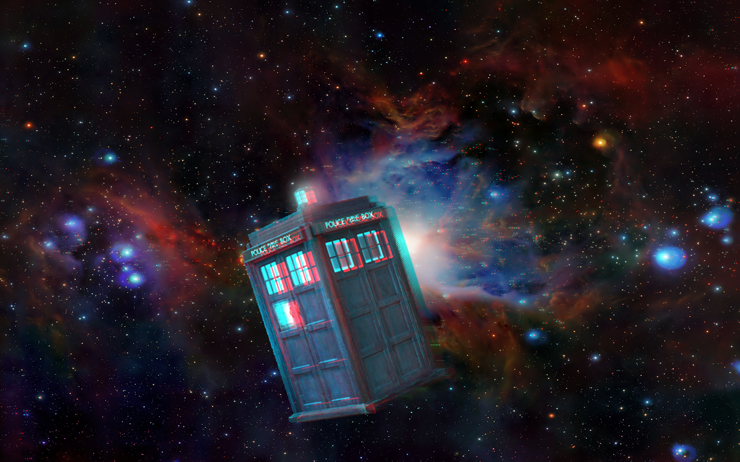 GALLERY: Dr Who Tardis In Space