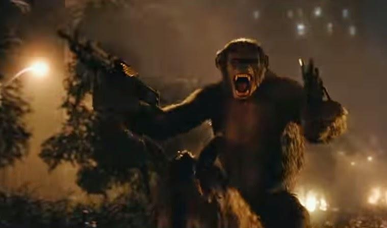 כוכב הקופים- השחר