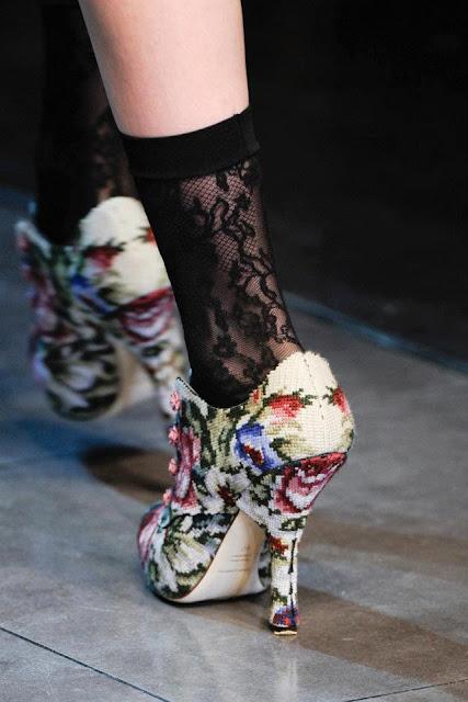 Вишивані туфлі