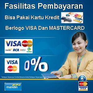 Pakai Kartu Kredit?