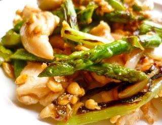 ... Scarlet: mouthwatering velvet chicken and summer vegetable stir fry