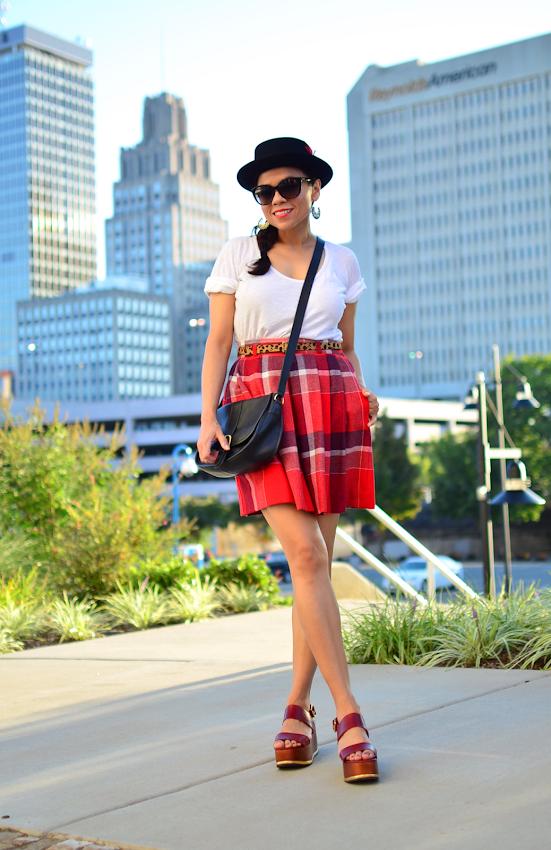 How to wear tartan plaid